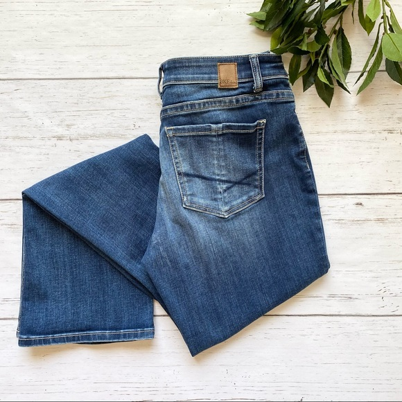BKE Buckle Bootcut Jeans Gabby Dark Wash XL Length